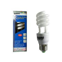 96 Units of Spiral Light 9 Watt Window Box - Lightbulbs