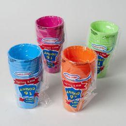 96 Units of 16 Pack Plastic Cups - Plastic Drinkware