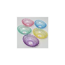 96 Units of Serving Bowl With Scalloped Edge - Plastic Bowls and Plates