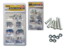 96 Units of 150g Nuts & Bolts Set - Drills and Bits