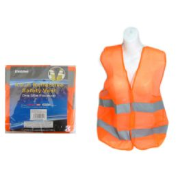 144 Units of Safety Vest Reflective Adult - Safety Helmets