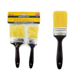 96 Units of 2pc Paint Brushes - Paint and Supplies