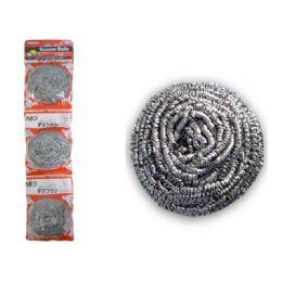 96 Units of 3pc Scourer Balls - Scouring Pads & Sponges