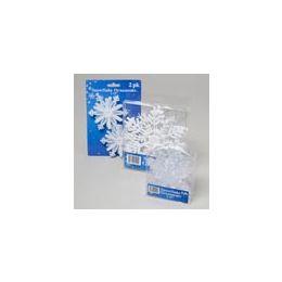 96 Units of Christmas Snowflake Ornaments - Christmas Ornament