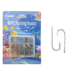 144 Units of Fishing Hooks 90pc/set - Fishing Items