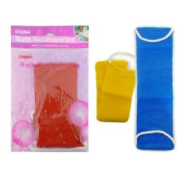 144 Units of Bath Scrubber - Loofahs & Scrubbers