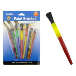144 Units of Paint Brush 15pc - Paint and Supplies