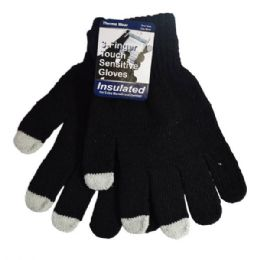 36 Units of Magic Glove 3 Finger Touch - Knitted Stretch Gloves