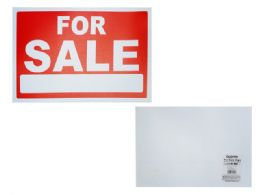"""576 Units of """"for Sale"""" Sign 20*30cm - Signs & Flags"""