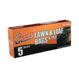 48 Units of 5 Count Garbage Bag Box 39g - Garbage & Storage Bags