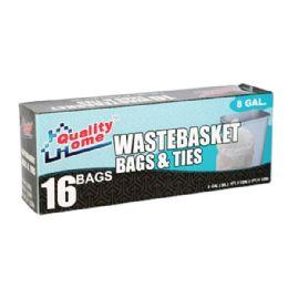 48 Units of 16 Count Garbage Bag Box - Garbage & Storage Bags