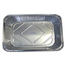 100 Units of Aluminum Pan 1/2 Size - Aluminum Pans