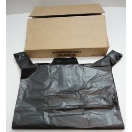 """630 Units of 32"""" Black Plastic Bags - Bags Of All Types"""