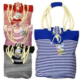 48 Units of Fashion Bag Small Stripes - Shoulder Bags & Messenger Bags
