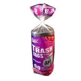 12 Units of 60 Count Garbage Bag Roll - Garbage & Storage Bags