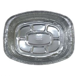 50 Units of Aluminum Pan Roaster Oval - Aluminum Pans