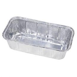 1000 Units of 1 Lb Aluminum Loaf Pan - Aluminum Pans