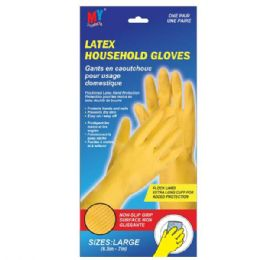 72 Units of Latex Glove L - Kitchen Gloves