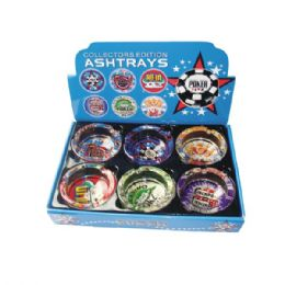 48 Units of Ashtray Glass Poker - Ashtrays