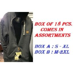 18 Units of Adult Hoodie Sweatshirt In Size S-xl - Mens Sweat Shirt