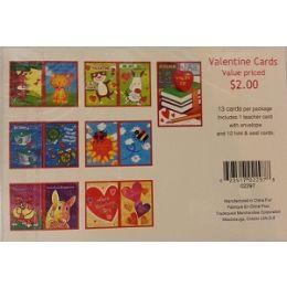 270 Units of VALENTINE DAY CHILDREN CARDS - Valentines