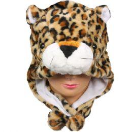 36 Units of Winter Animal Hat Lion - Winter Animal Hats