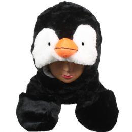 24 Units of Winter Animal Hat Bird - Winter Animal Hats