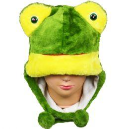 36 Units of Winter Animal Hat Frog - Winter Animal Hats