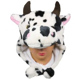36 Units of Winter Cow Animal Hat - Winter Animal Hats