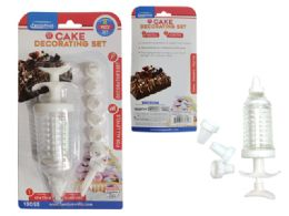 "144 Units of Cake Decorating Set 8pc 7"" - Baking Supplies"