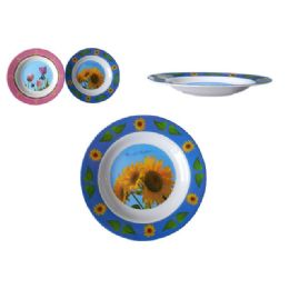 "96 Units of Mela Soup Plate 10"" 2asst - Plastic Bowls and Plates"