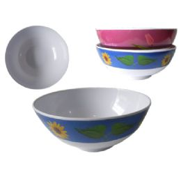 "84 Units of Mela Bowl 8"" Dia X 3.5"" 2asst - Craft Beads"