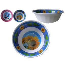 "60 Units of Mela Bowl 9""diarmeter X 3.3"" 2asst - Plastic Bowls and Plates"