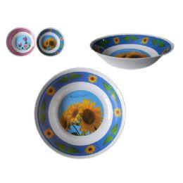 "84 Units of Mela Bowl 10"" 2sst Design - Plastic Bowls and Plates"