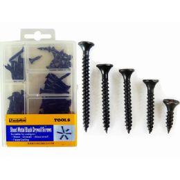 84 Units of Screws Metalblack 150g/box - Drills and Bits
