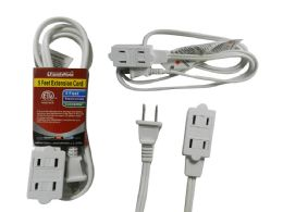 144 Units of Etl Ul Std. Extension Cord 5ft - Chargers & Adapters
