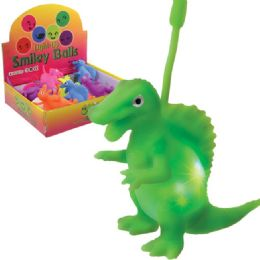 72 Units of Light Up Puffer T-Rex YO-Yo. - Light Up Toys
