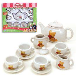 12 Units of 13pc Porcelain Tea Set - Girls Toys