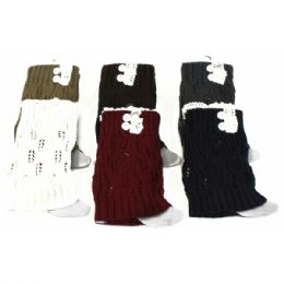 120 Units of BOOT TOPPER IN ASSORTED COLORS - Women's Boots