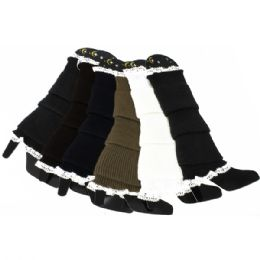 120 Units of Leg Warmers In Assorted Colors - Womens Leg Warmers