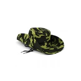 120 Units of LARGE FLOPPY SAFARI HAT IN CAMOUFLAGE PRINT - ASST COLORS - Sun Hats