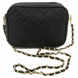 24 Units of DESIGNER INSPIRED QUILTED BAG IN BLACK - Shoulder Bags & Messenger Bags