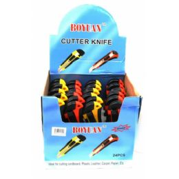 288 Units of Utility Knives In A Retail Display - Box Cutters and Blades