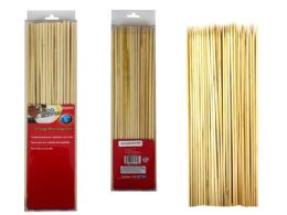 48 Units of 100 Piece Bamboo Skewers - BBQ supplies