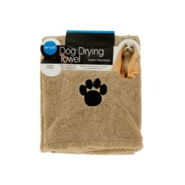 12 Units of Medium Super Absorbent Dog Drying Towel - Pet Grooming Supplies