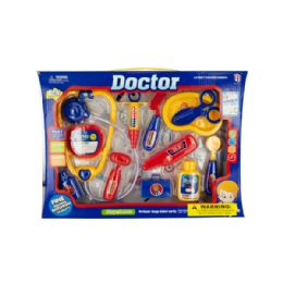 12 Units of Play & Learn Doctor Toy Set - Girls Toys