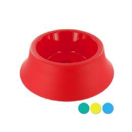 36 Units of Large Size Round Plastic Pet Bowl - Pet Accessories