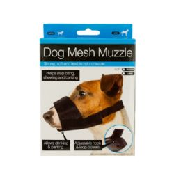 30 Units of Adjustable Nylon Mesh Dog Muzzle - Pet Accessories