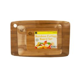 6 Units of Bamboo Cutting Board Set - Cutting Boards
