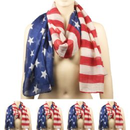 36 Units of Woman's Light Weight Scarves (american) - Winter Scarves